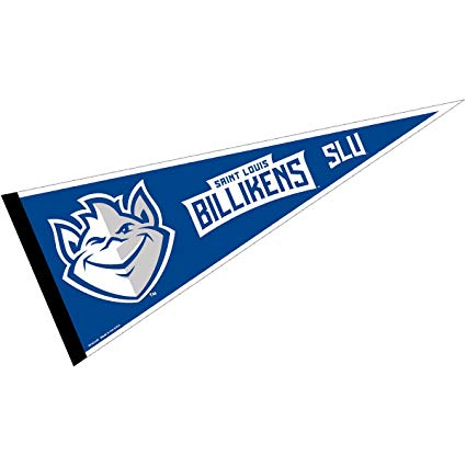 College Flags & Banners Co. Saint Louis University Pennant Full Size Felt.