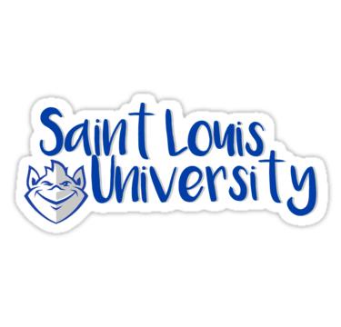 Saint Louis University Billiken Logo\' Sticker by annxva in.