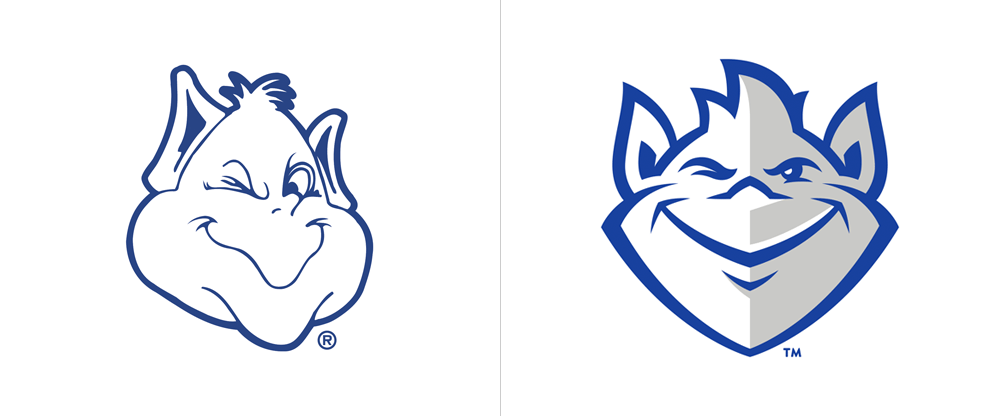 Brand New: New Logos for Saint Louis University by Olson.