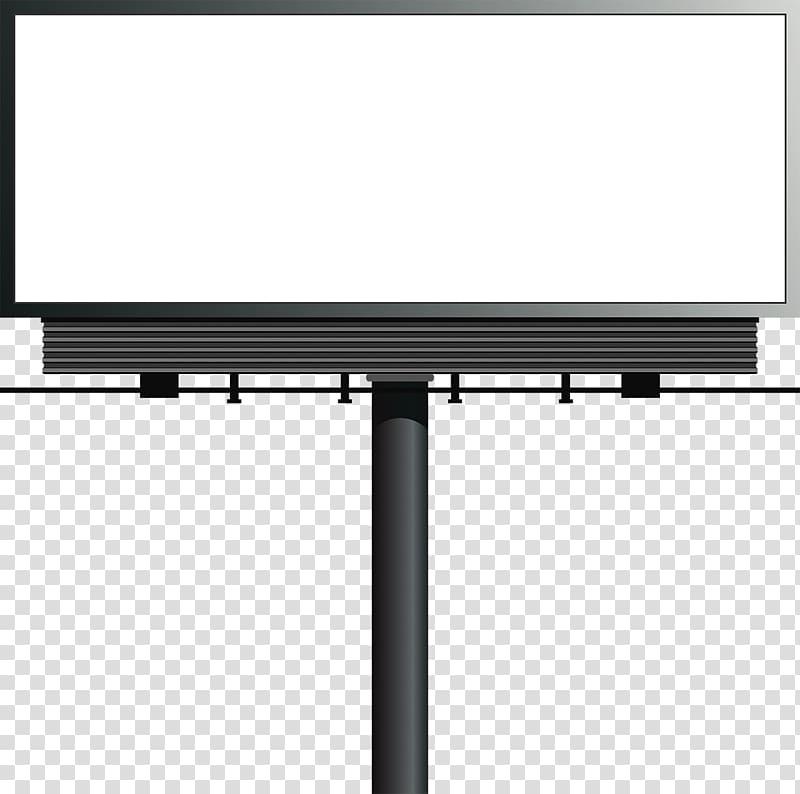Black billboard illustration, Billboard Advertising, Outdoor.