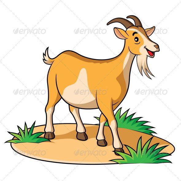 Goat Cartoon.
