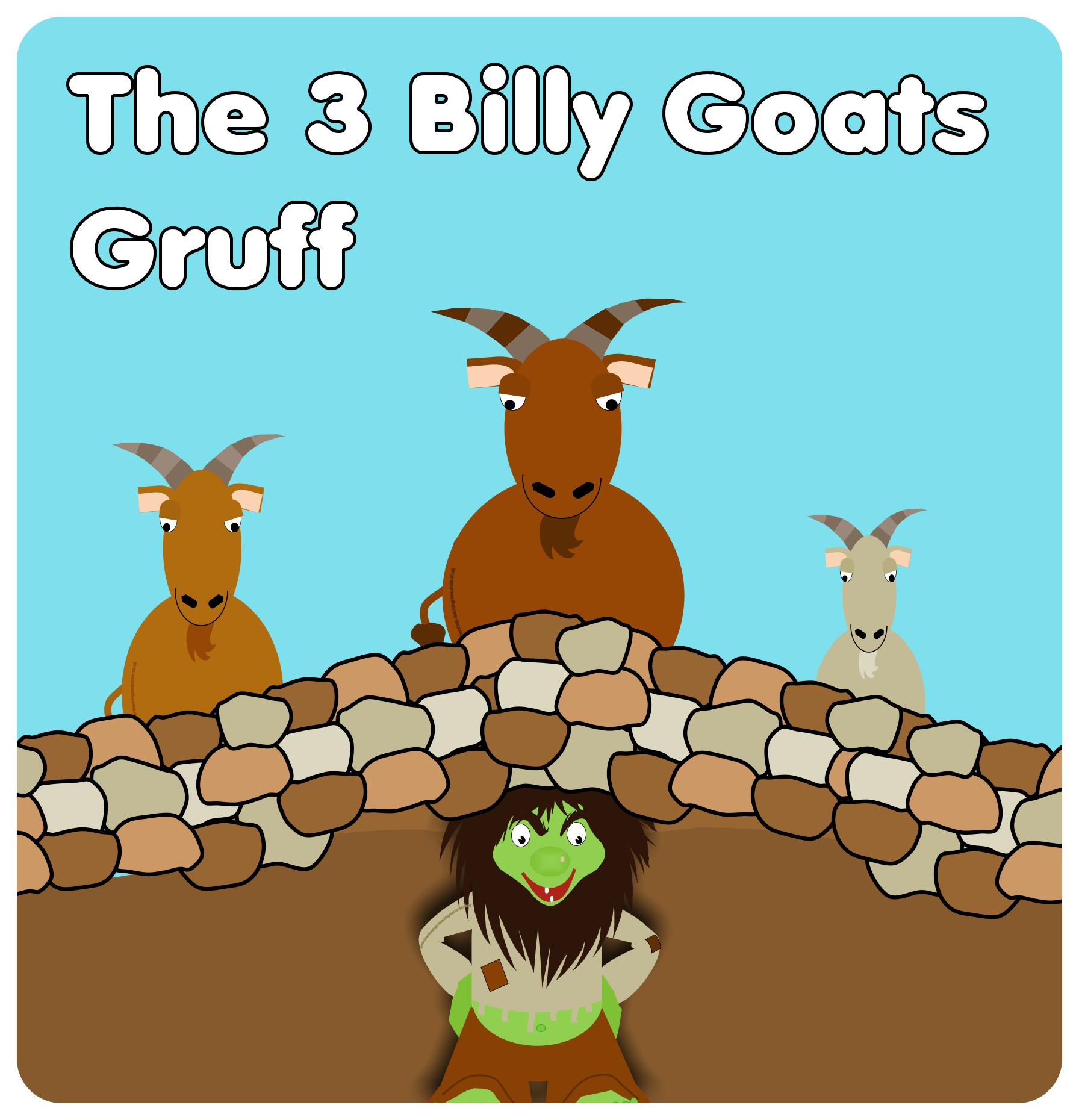 Free Billy Goats Gruff Colour, Download Free Clip Art, Free.