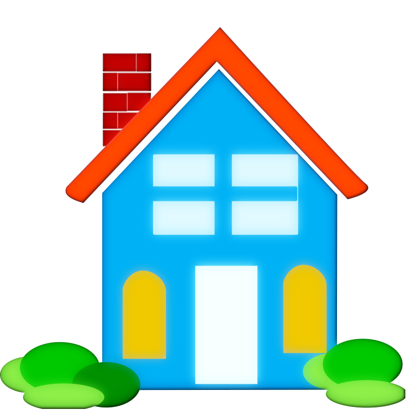 Real estate house clipart.