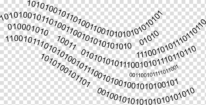 Binary code Computer Icons Circle , binarycode transparent.