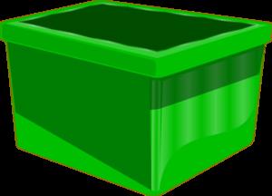 Empty Green Bin Clip Art at Clker.com.