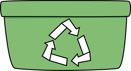 Recycle bin clipart - Clipground