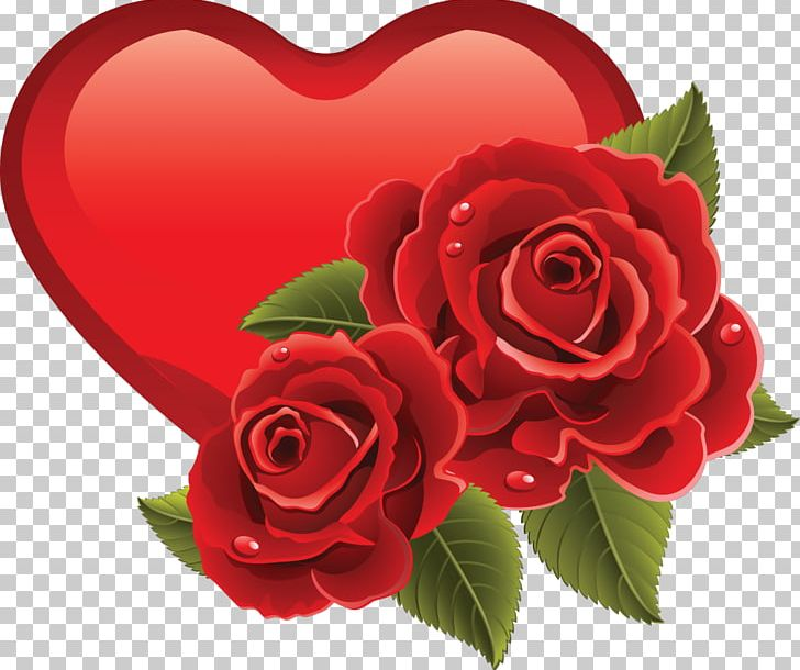 Heart Rose Valentine\'s Day PNG, Clipart, Cut Flowers.