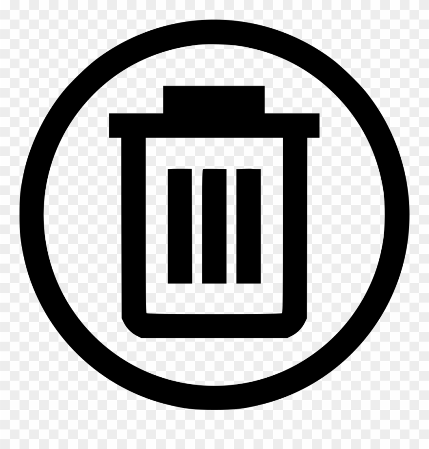 Picture Library Bin Trash Can Svg Png Icon Free Clipart.