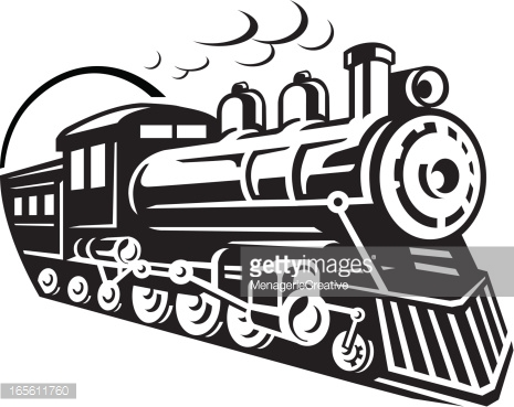 Free illustrations, Train tracks and Trains on Pinterest.