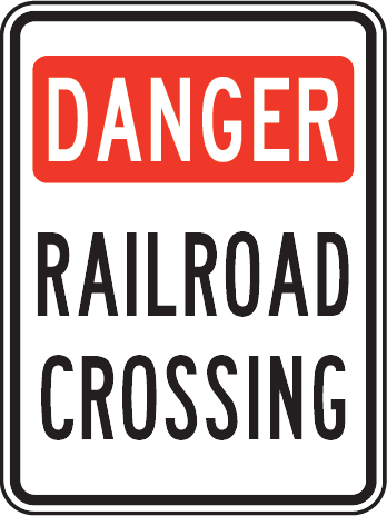 Railroad Sign Images.