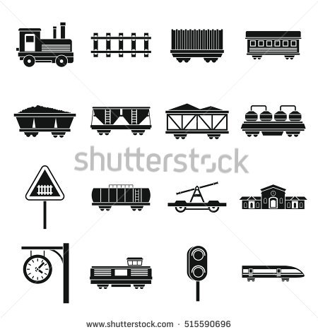 Railway Stock Photos, Royalty.