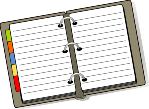 Organized Binder Clip Art at Clker.com.