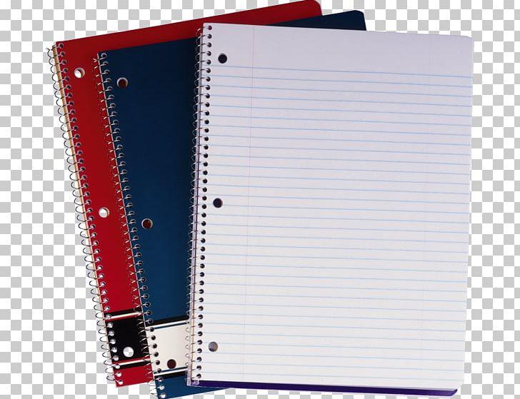 Notebook Ring Binder Paper School Supplies Ballpoint Pen PNG.