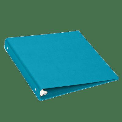 Light Blue Binder Flat transparent PNG.
