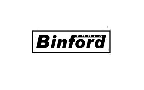 WHITE BINFORD TOOLS LOGO VINYL DECAL STICKER, Decals.