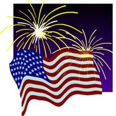 4th of july clip art free fireworks.