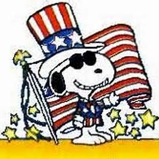 4th of July Snoopy Bing Images.