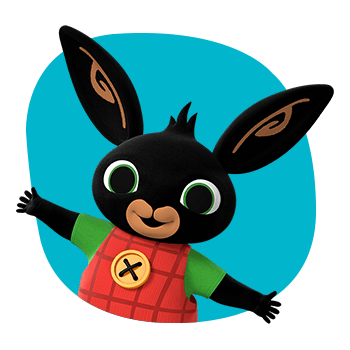Bing Bunny Emblem transparent PNG.