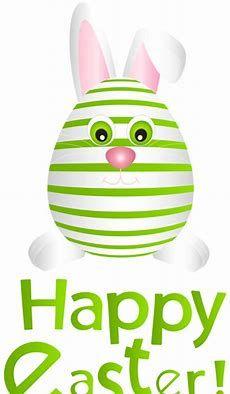 Transparent Easter Bunny Clip Art.