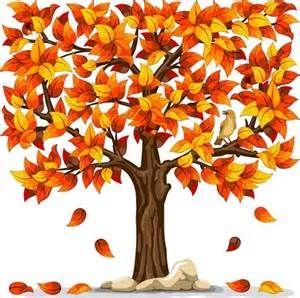 free fall trees clip art.