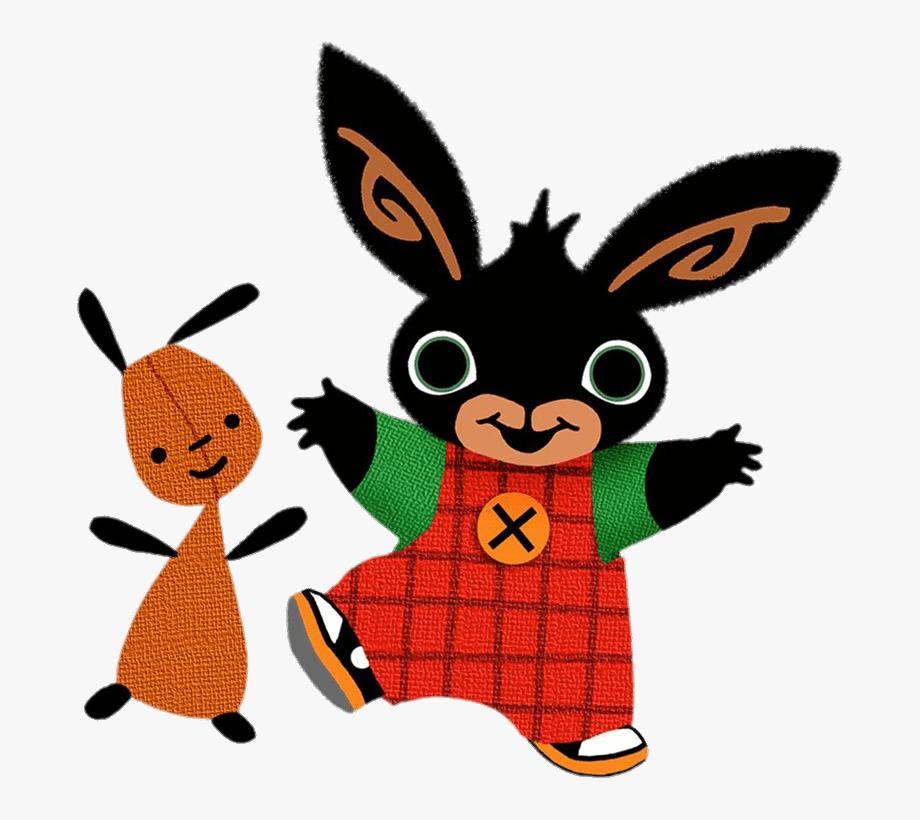 Bing Bunny And Flop Dancing.