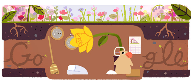 Spring Equinox 2017 From Google & Bing.