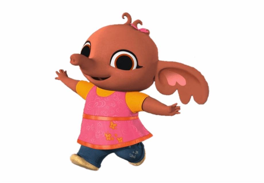 Bing Bunny Sula Running.