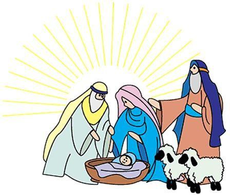 Christian Christmas Clipart.