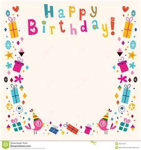 happy birthday Page Borders frames free.