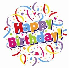 Clipart Images Happy Birthday.