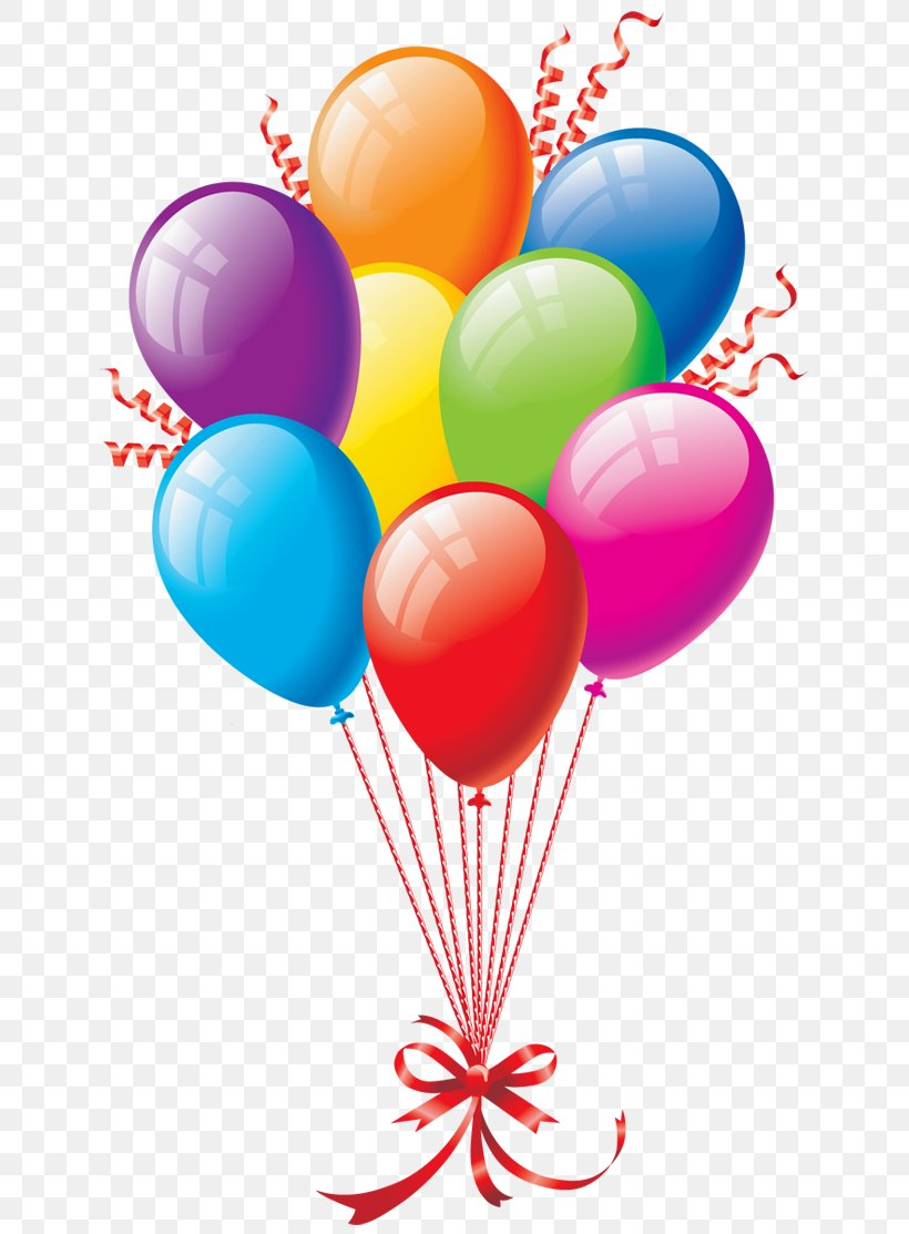 Birthday Cake Balloon Happy Birthday To You Clip Art, PNG.