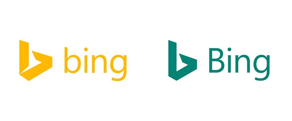 Brand New: New Logo for Bing.