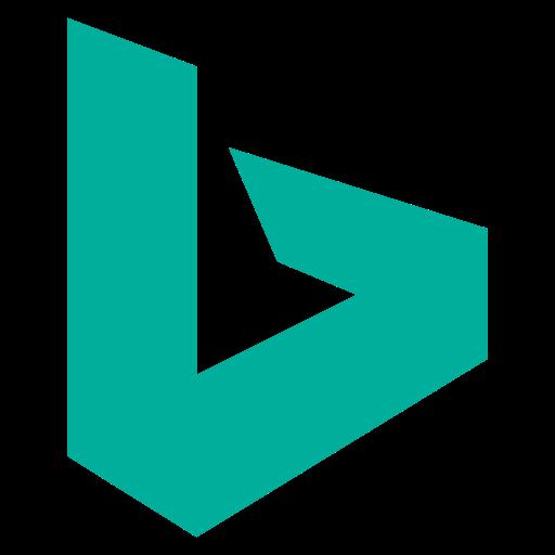 Bing, logo, social, social media icon.