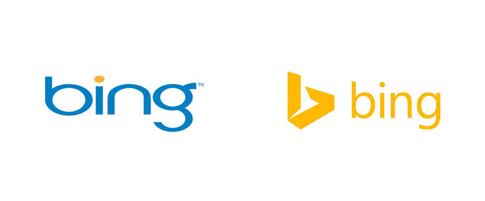 Brand New: New Logo for Bing by Microsoft.