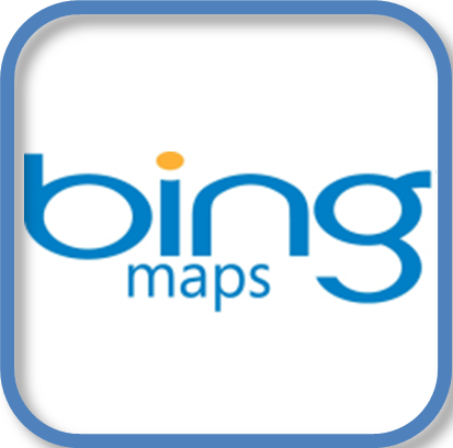 Bing Maps Icon Logo.