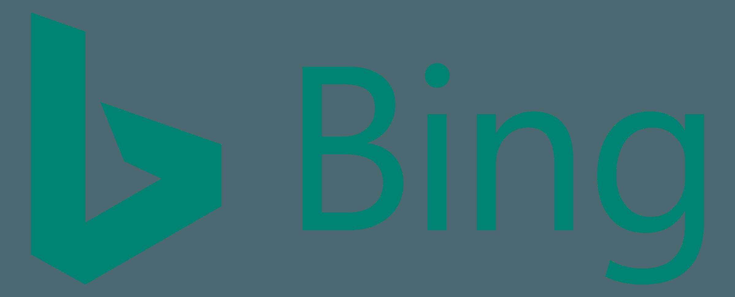 Bing Logo PNG Transparent & SVG Vector.