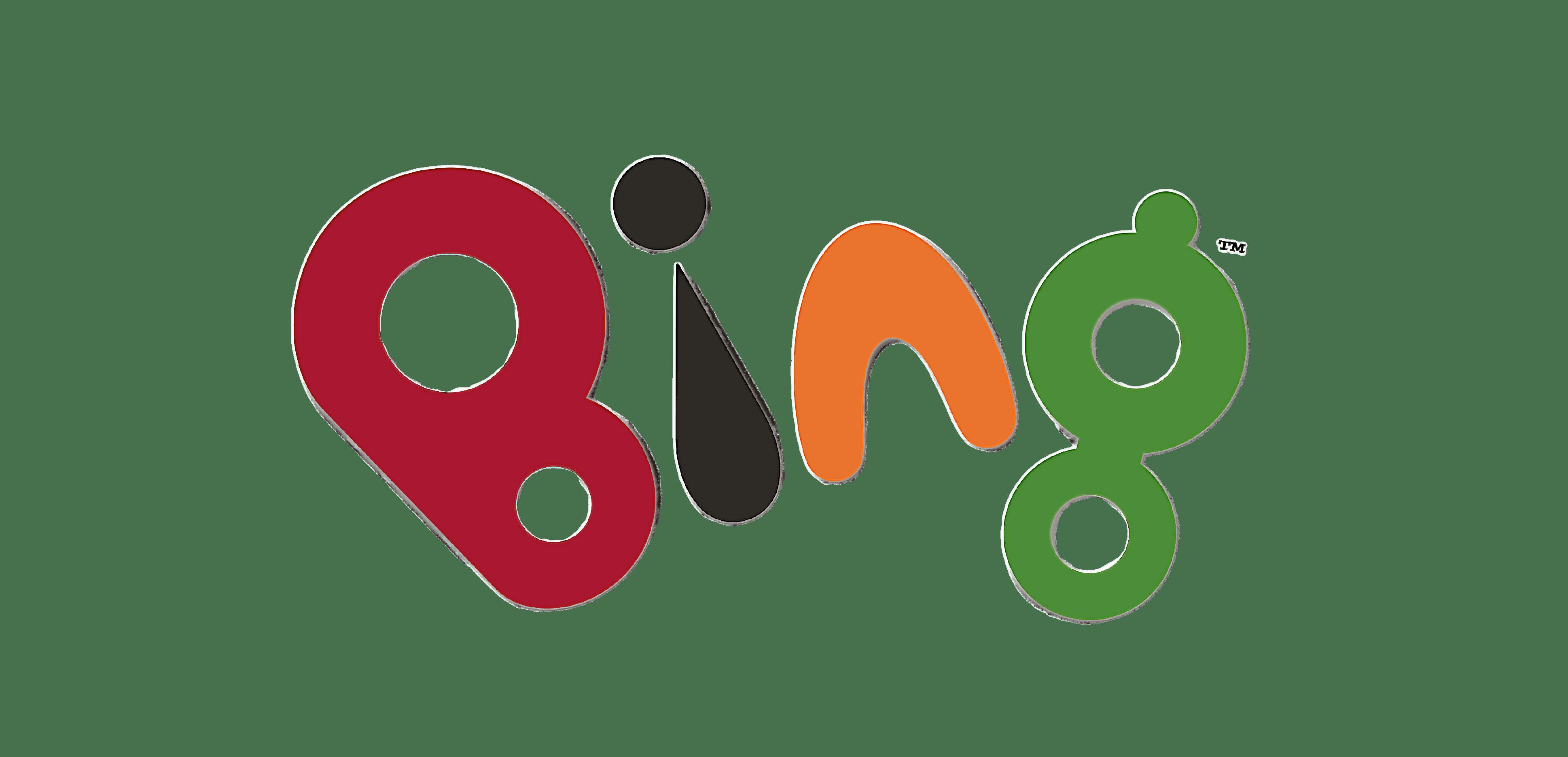 Bing Bunny Simple Logo transparent PNG.