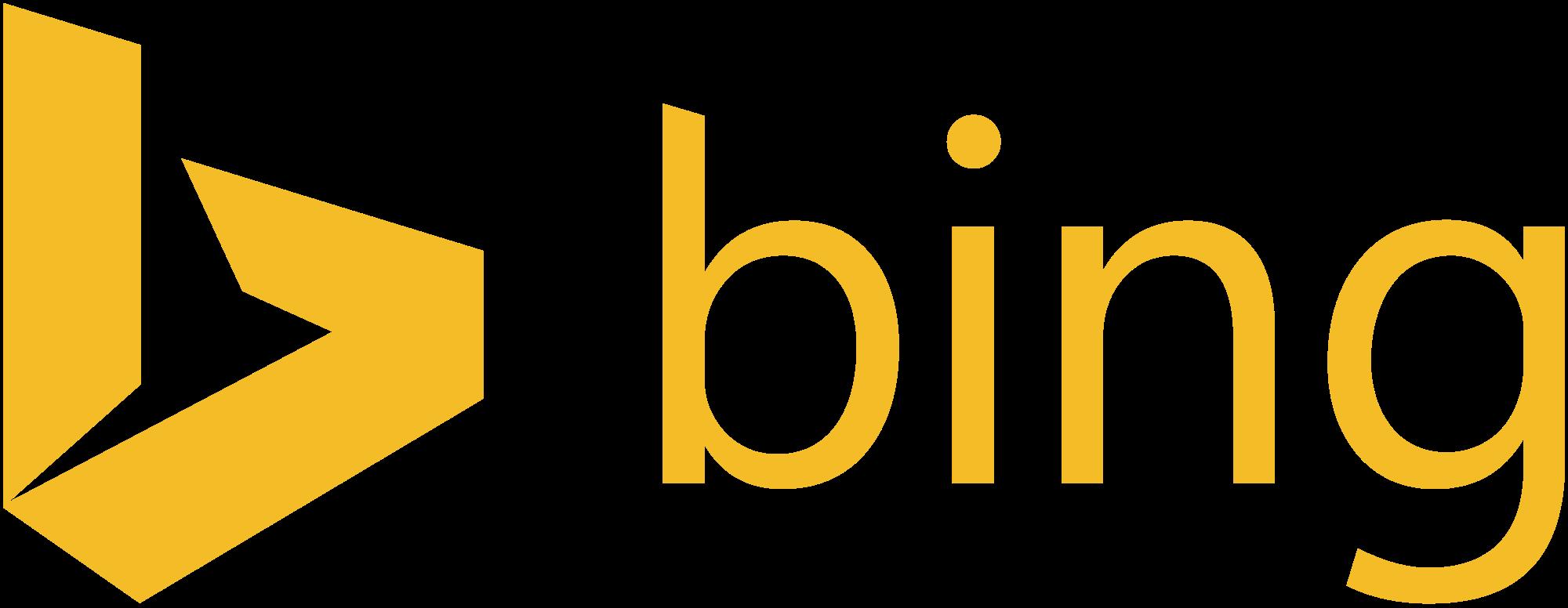 Bing Logo PNG Transparent Bing Logo.PNG Images..