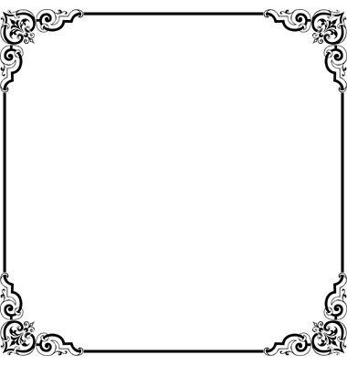 Elegant Border Frame.
