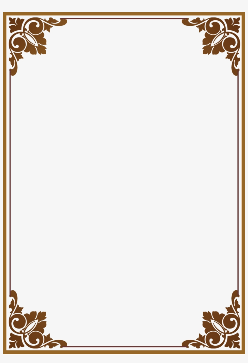 Bingkai Batik Clipart Transparent.