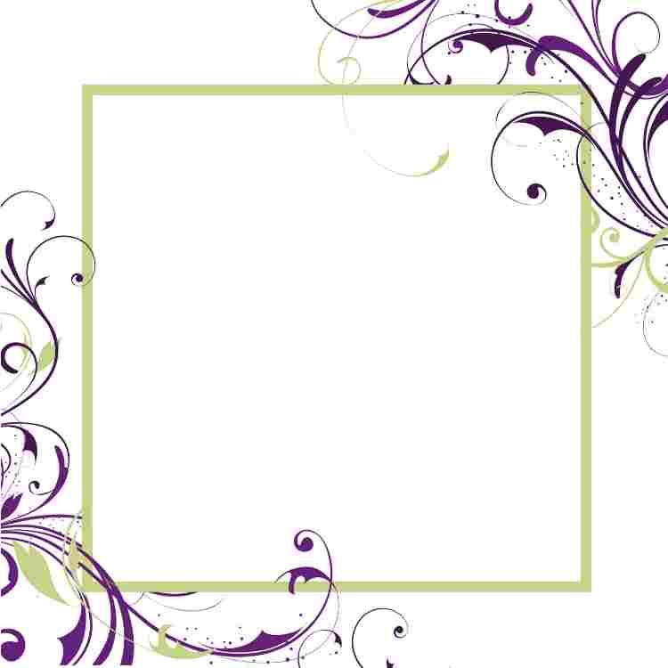 √ 15+ Bingkai Undangan Pernikahan Klasik Terbaik & Terbaru.