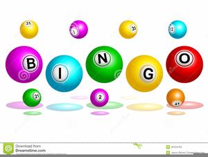 Bingo Balls Clipart.