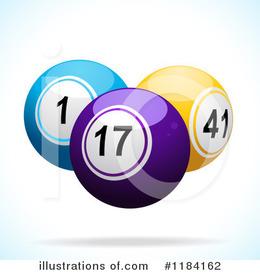 Download bingo balls flat vector clipart Royalty.