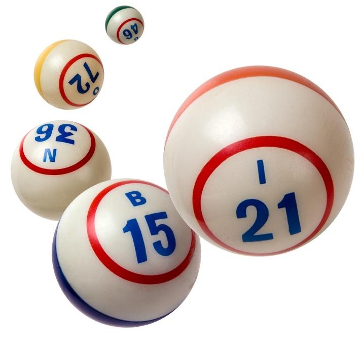 Bingo Balls Clipart Free.