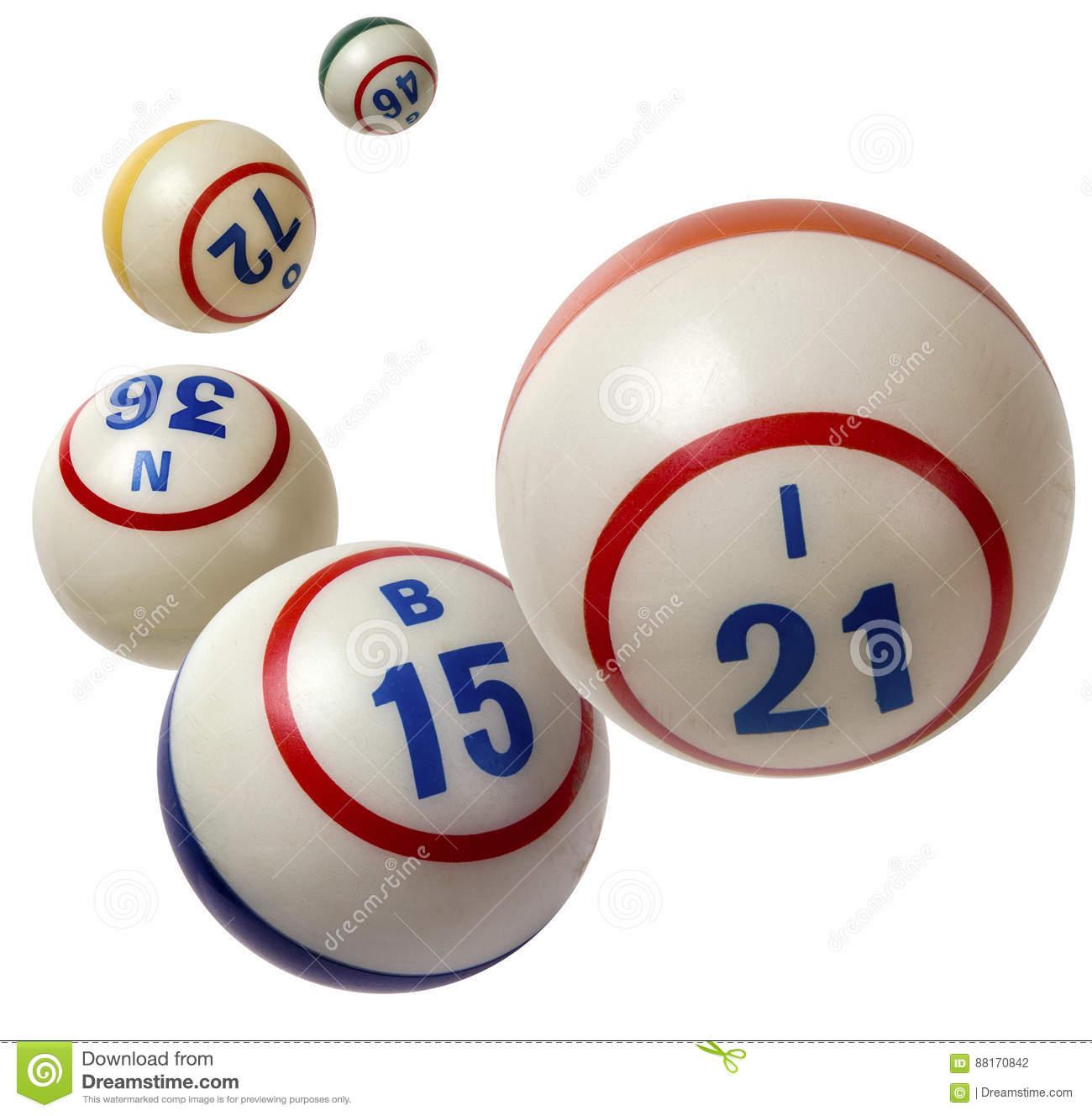 Bingo Balls stock photo. Image of white, games, gambling.