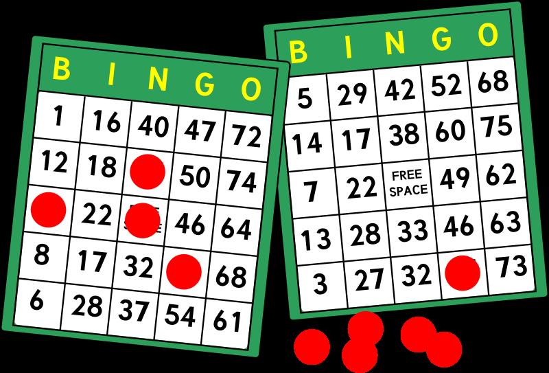 Free Clipart: Bingo Cards.