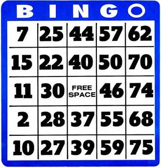 Free Bingo Card Cliparts, Download Free Clip Art, Free Clip Art on.