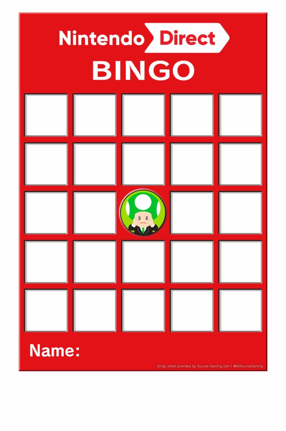 Bingo Card Png.