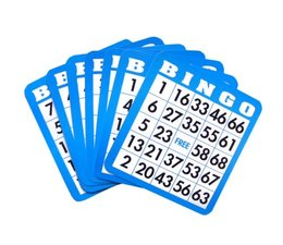 Download popular playthings bingo cards (colours may vary) clipart.
