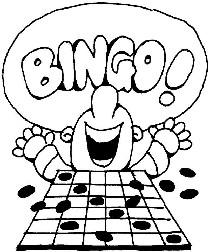 Bingo Cards Clip Art.